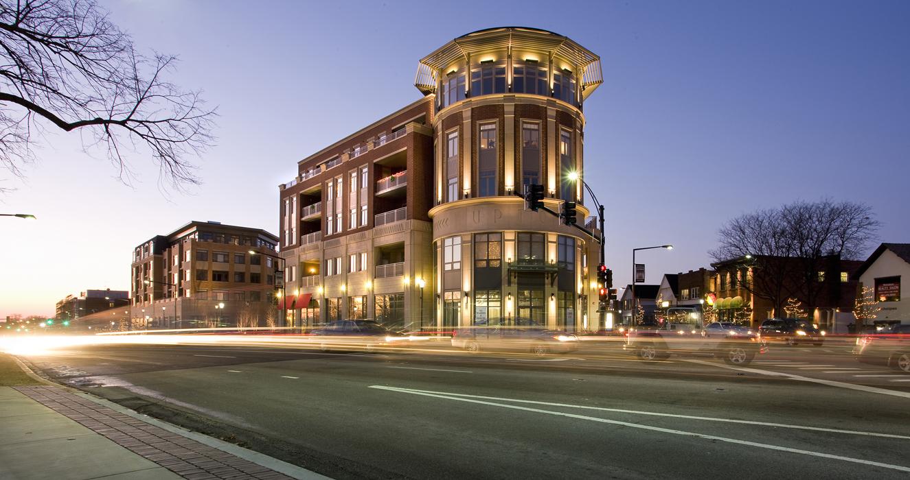 Exterior shot of Park Ridge development.