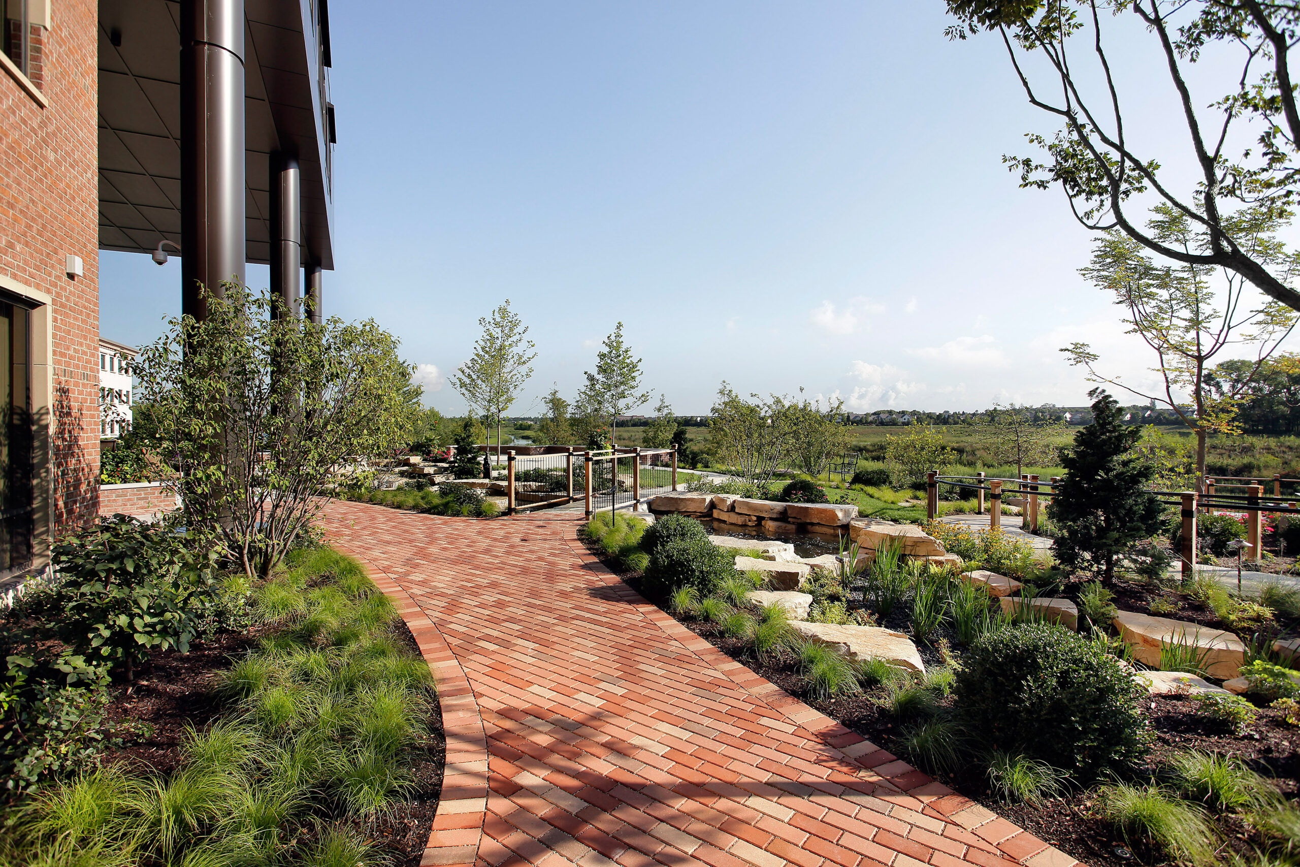 Exterior nature view, JourneyCare.