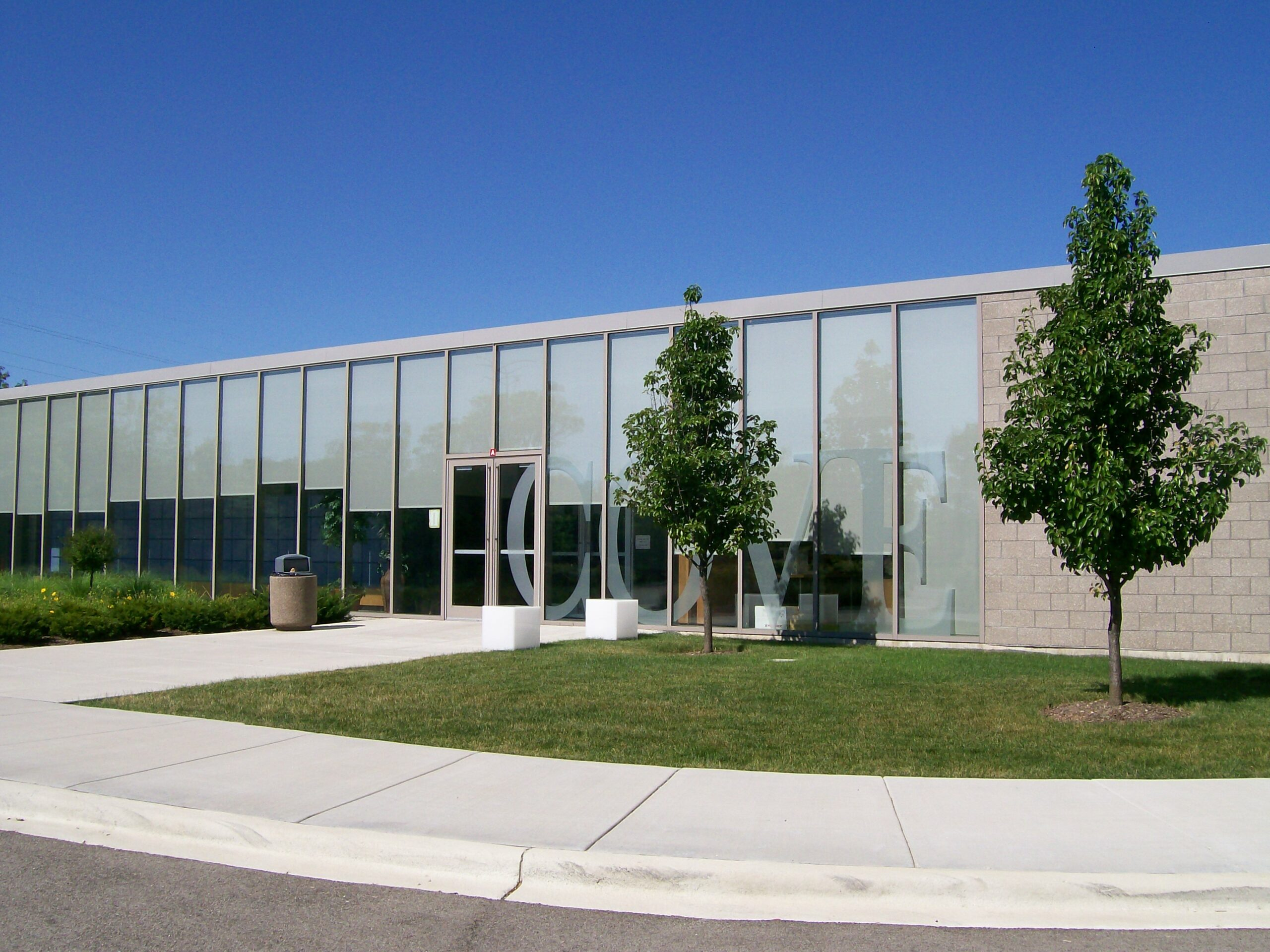 Exterior of The Cove School.