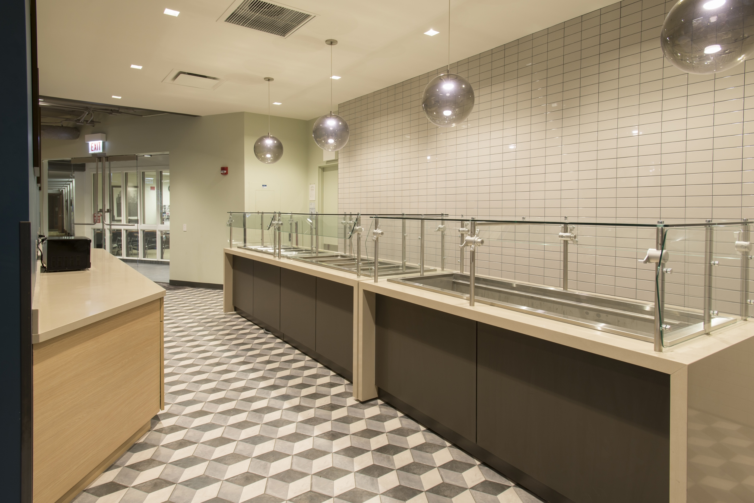 Kitchen area at Arrupe College.