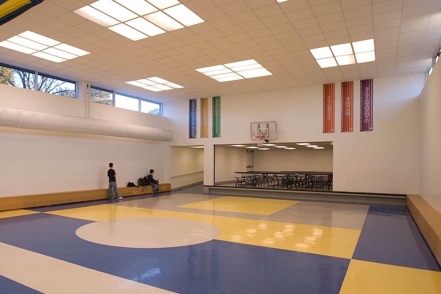 Gym at The Cove School.