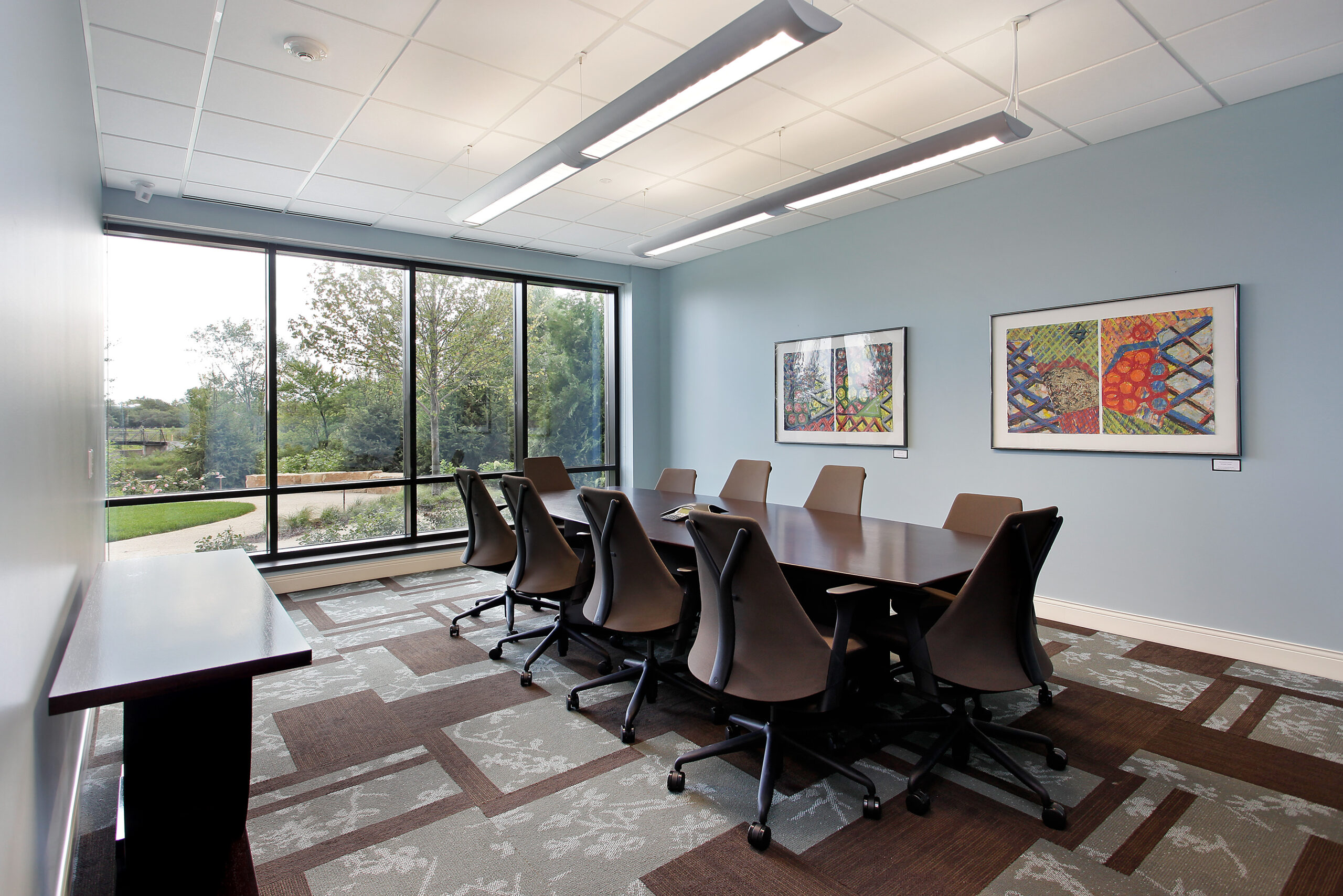 Conference room, JourneyCare.