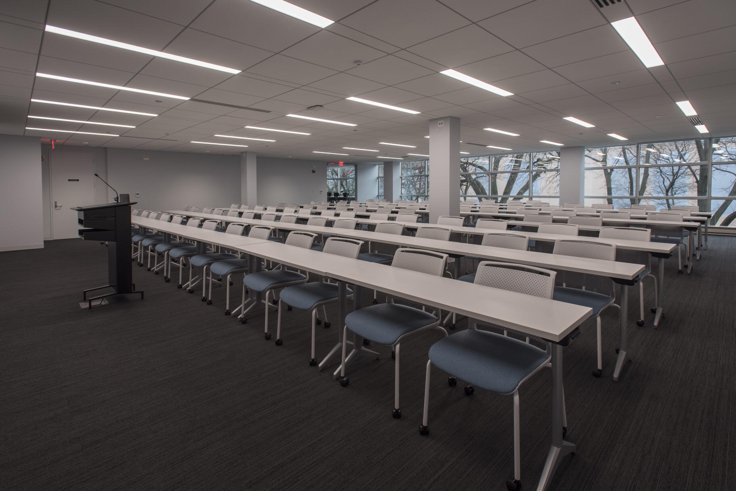 Training room at AAOMS.