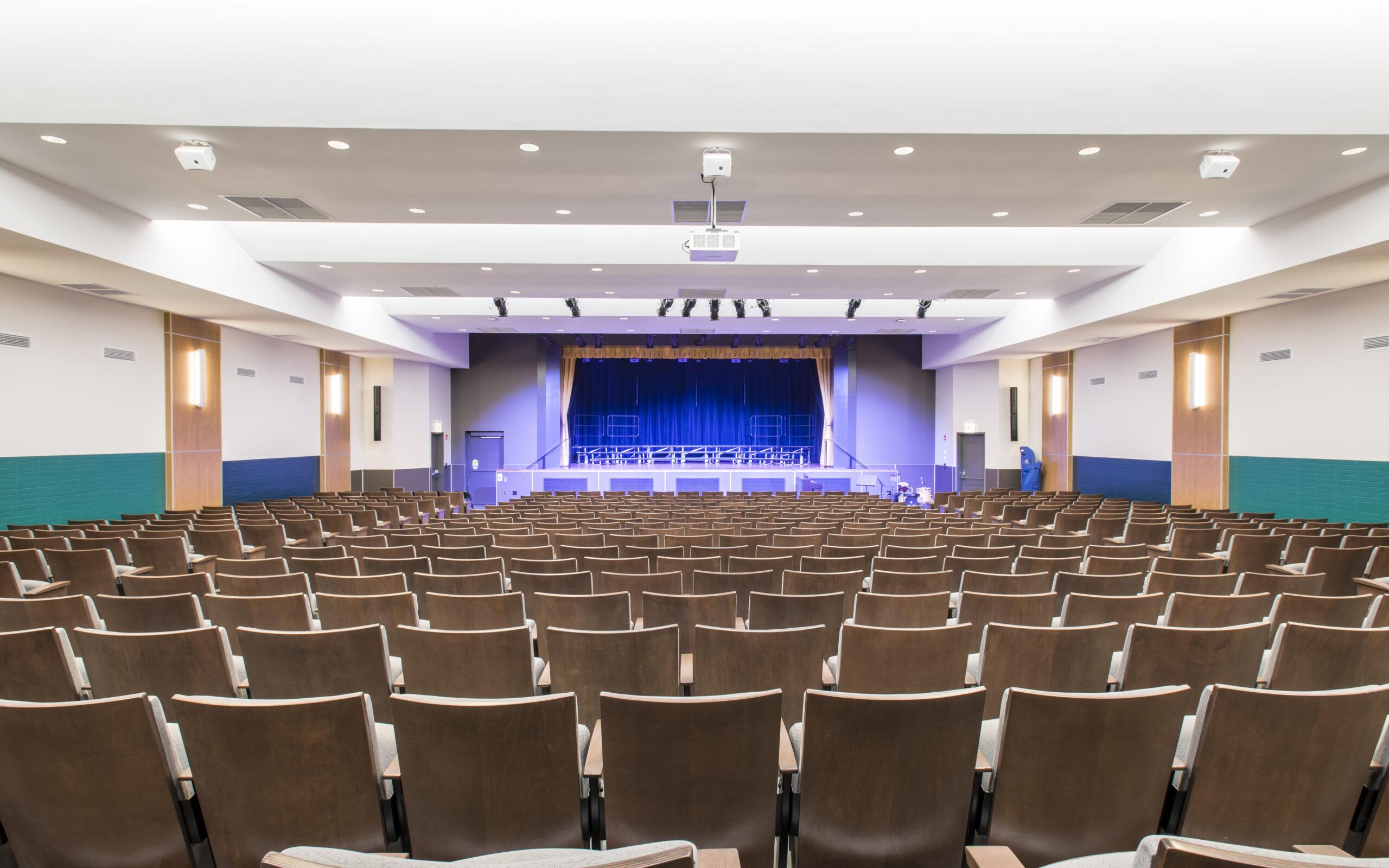 The Frances Xavier Warde School | Auditorium and Club Room