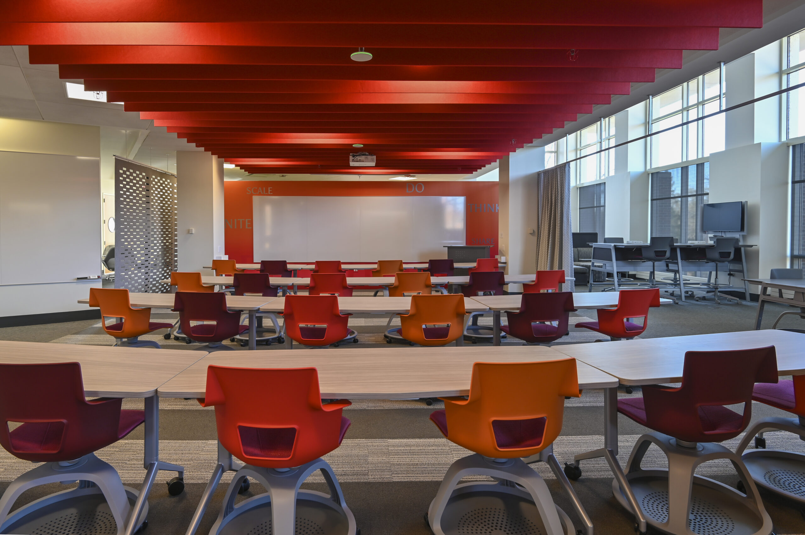 Collaborative learning library at Lake Forest College.
