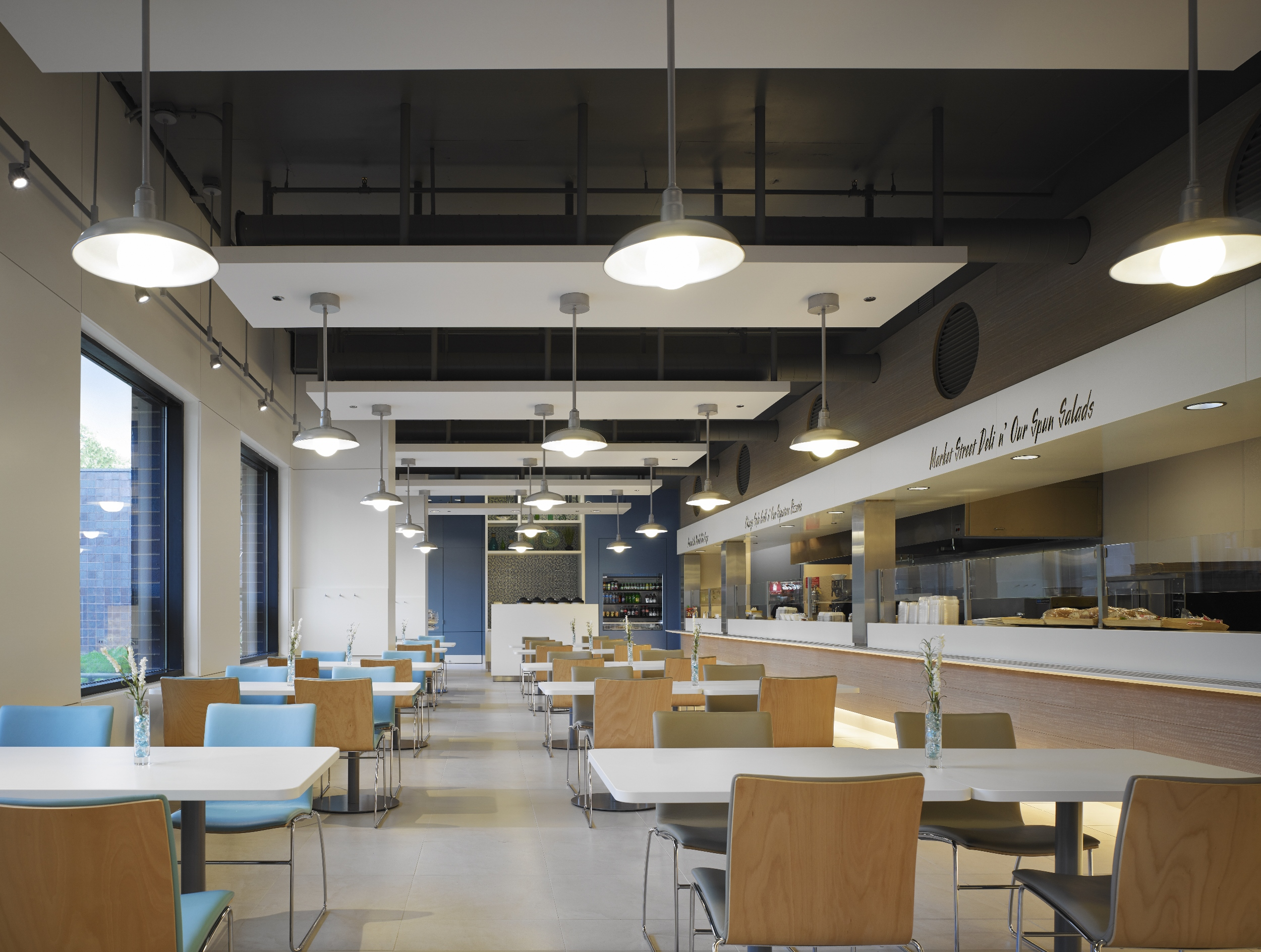 Cafe within Wintrust Corporate HQ.