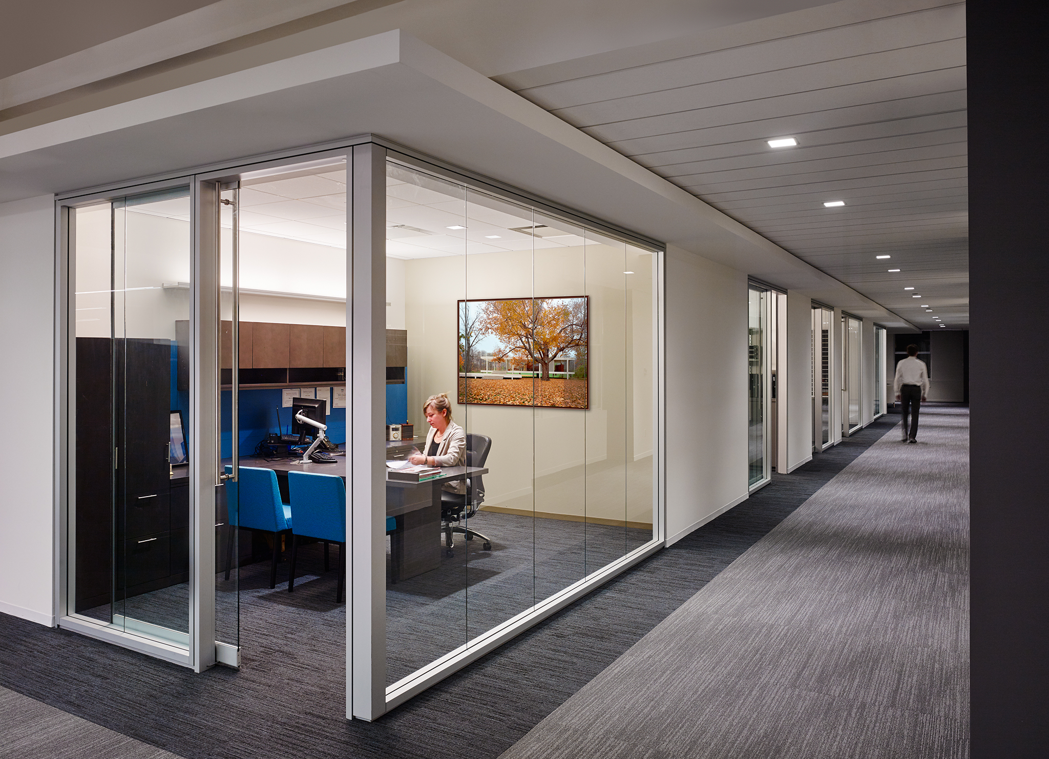 Private office at Wintrust Wealth Management.