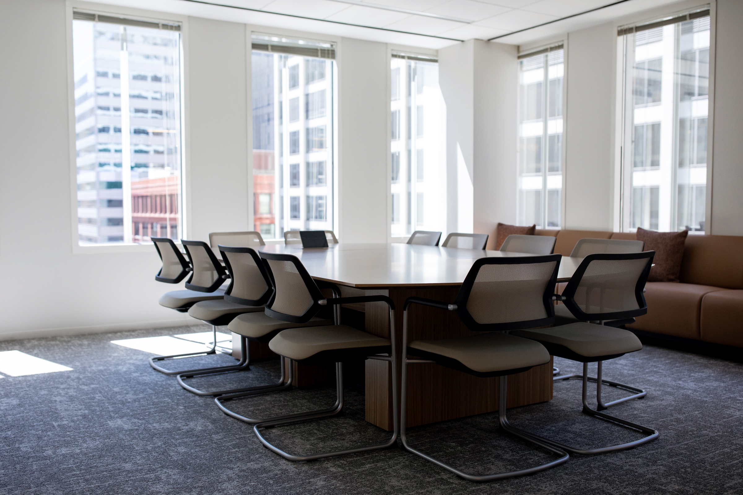 Conference room at 181 W Madison.