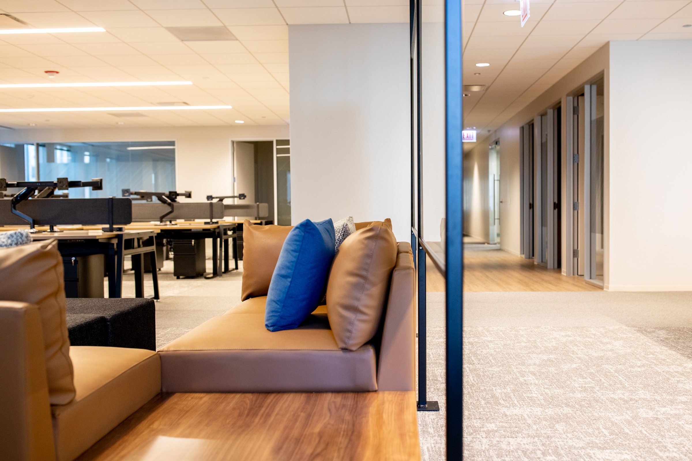 Office interior view at 181 W Madison.