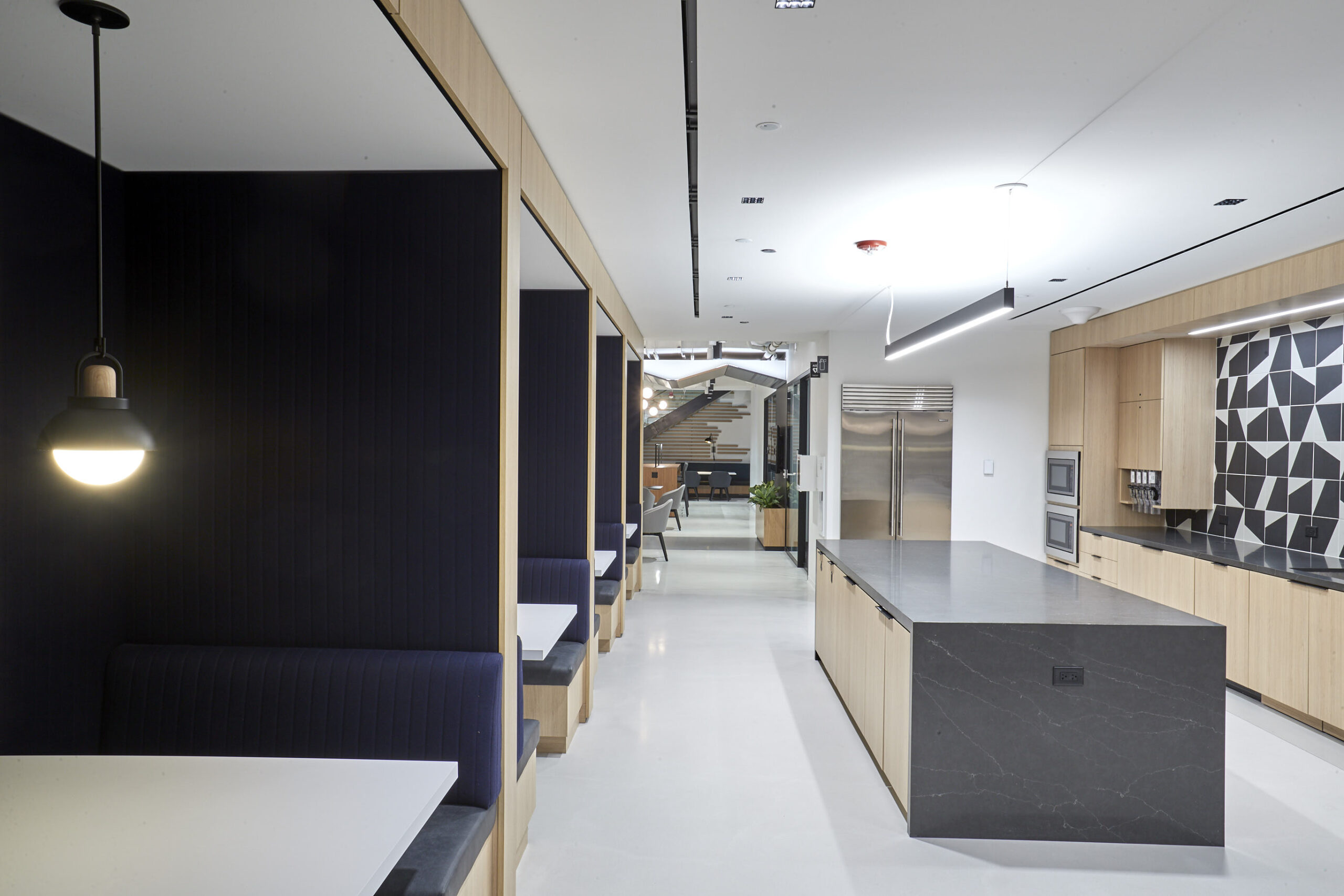 Pantry and sitting areas, RSM.