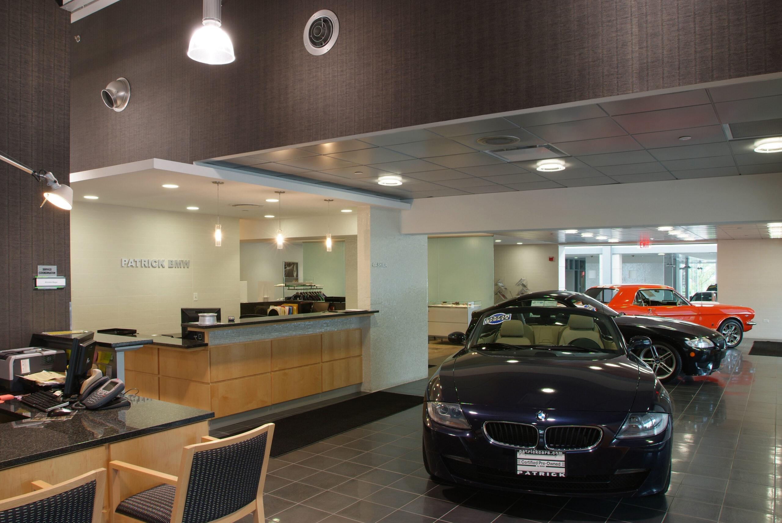 Interior, Patrick BMW.