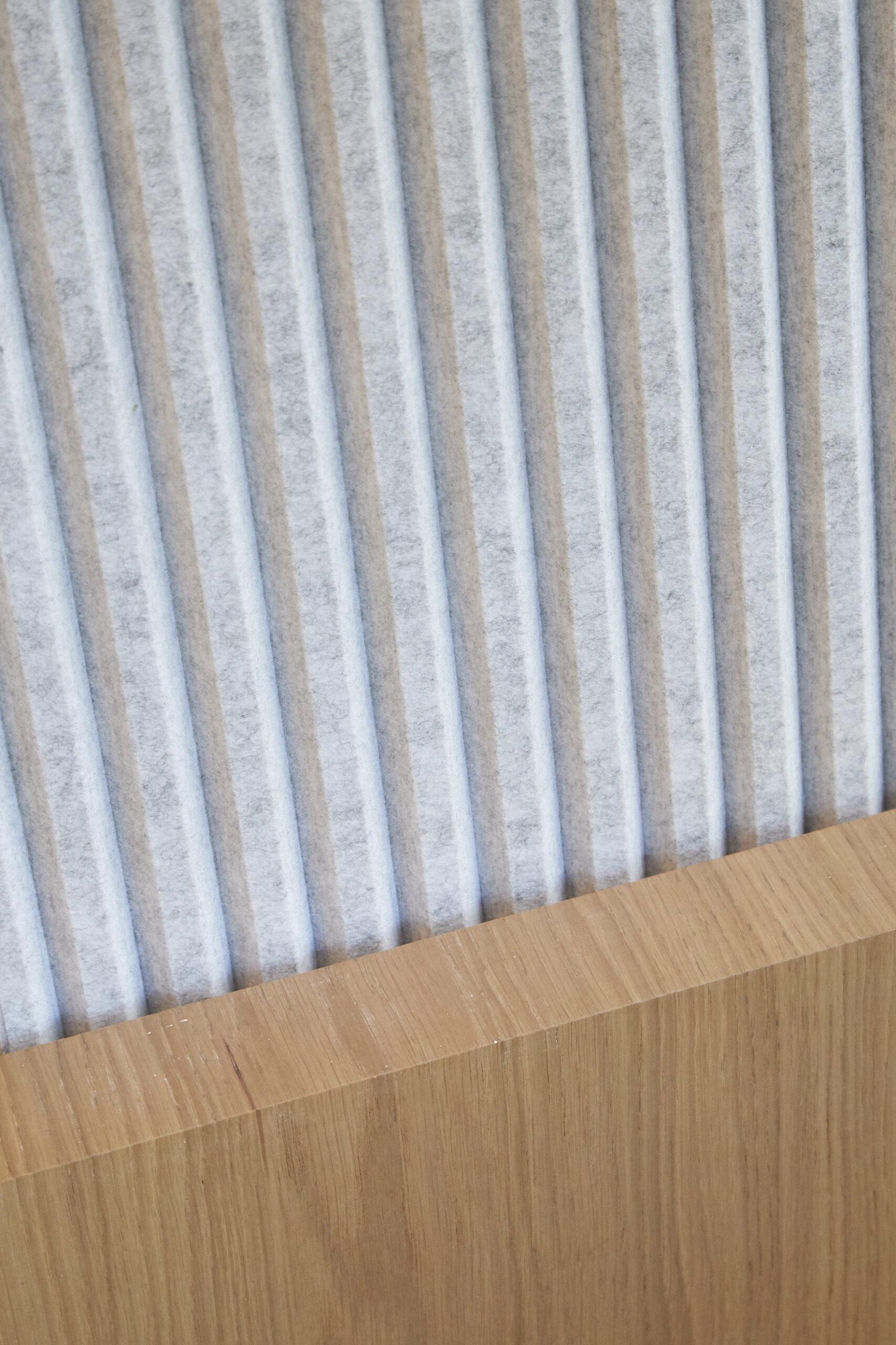 Detail shot of materials, RSM.
