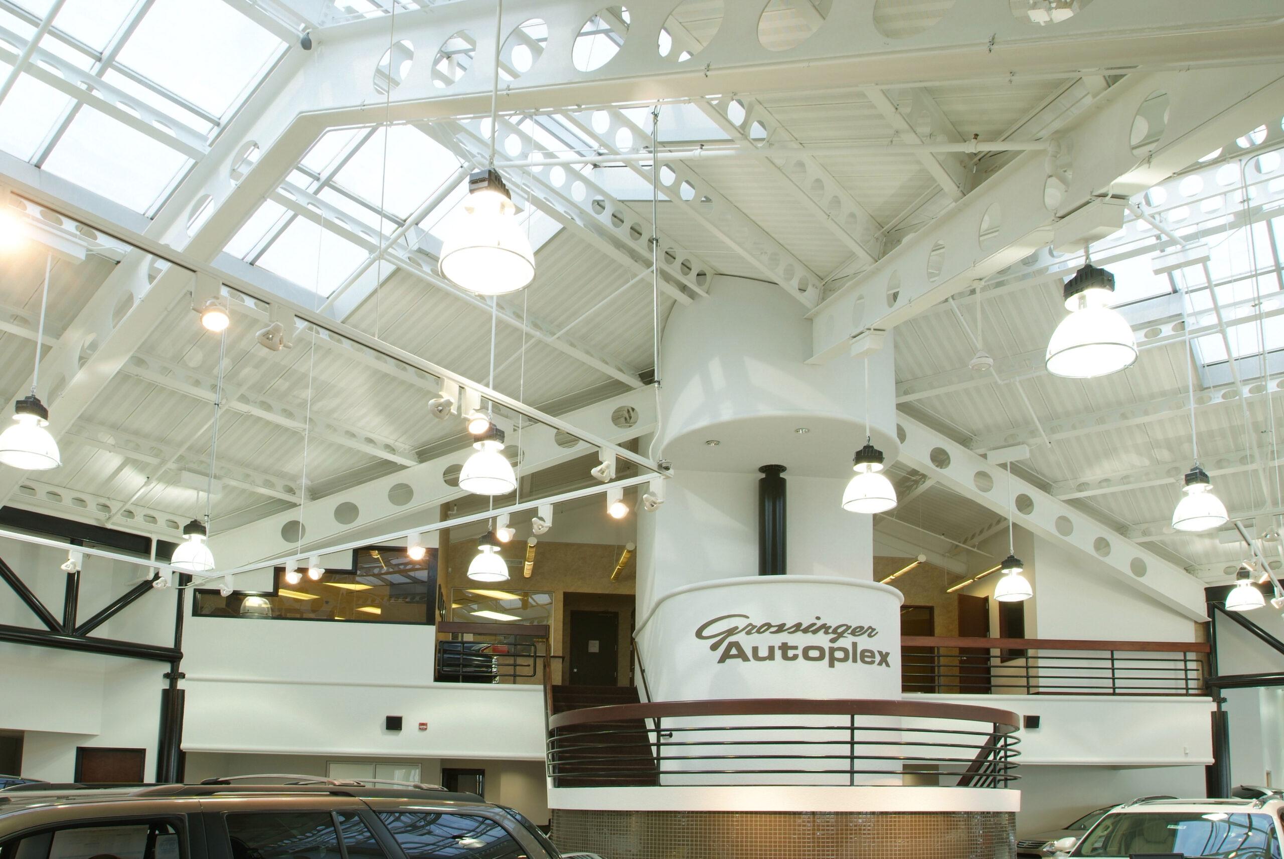 Interior, Grossinger City Autoplex.