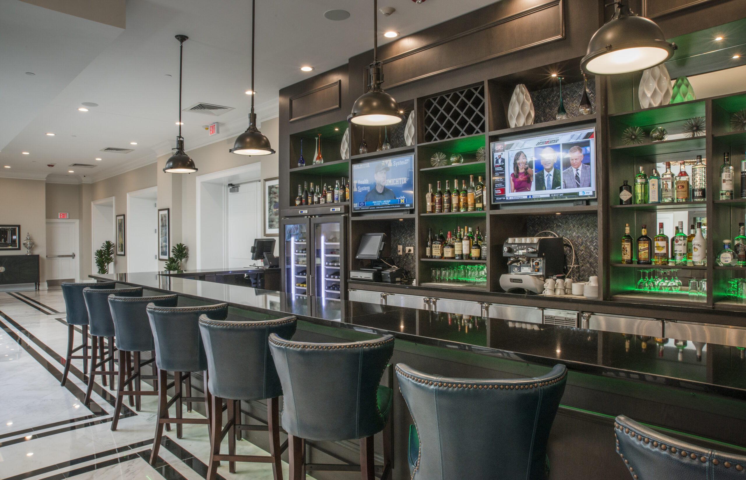 New bar within The Merion.