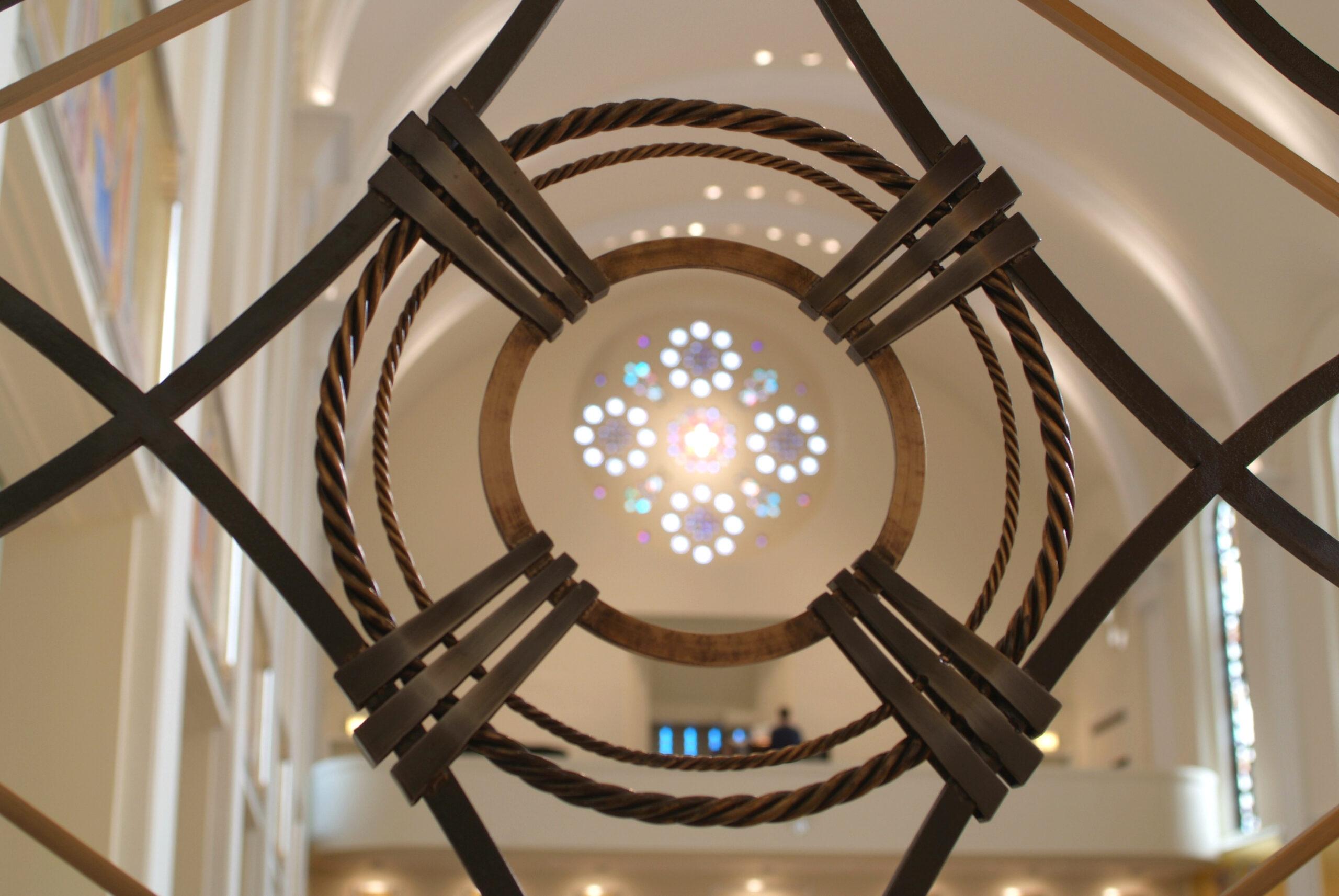 Detail shot, Loyola Academy chapel.