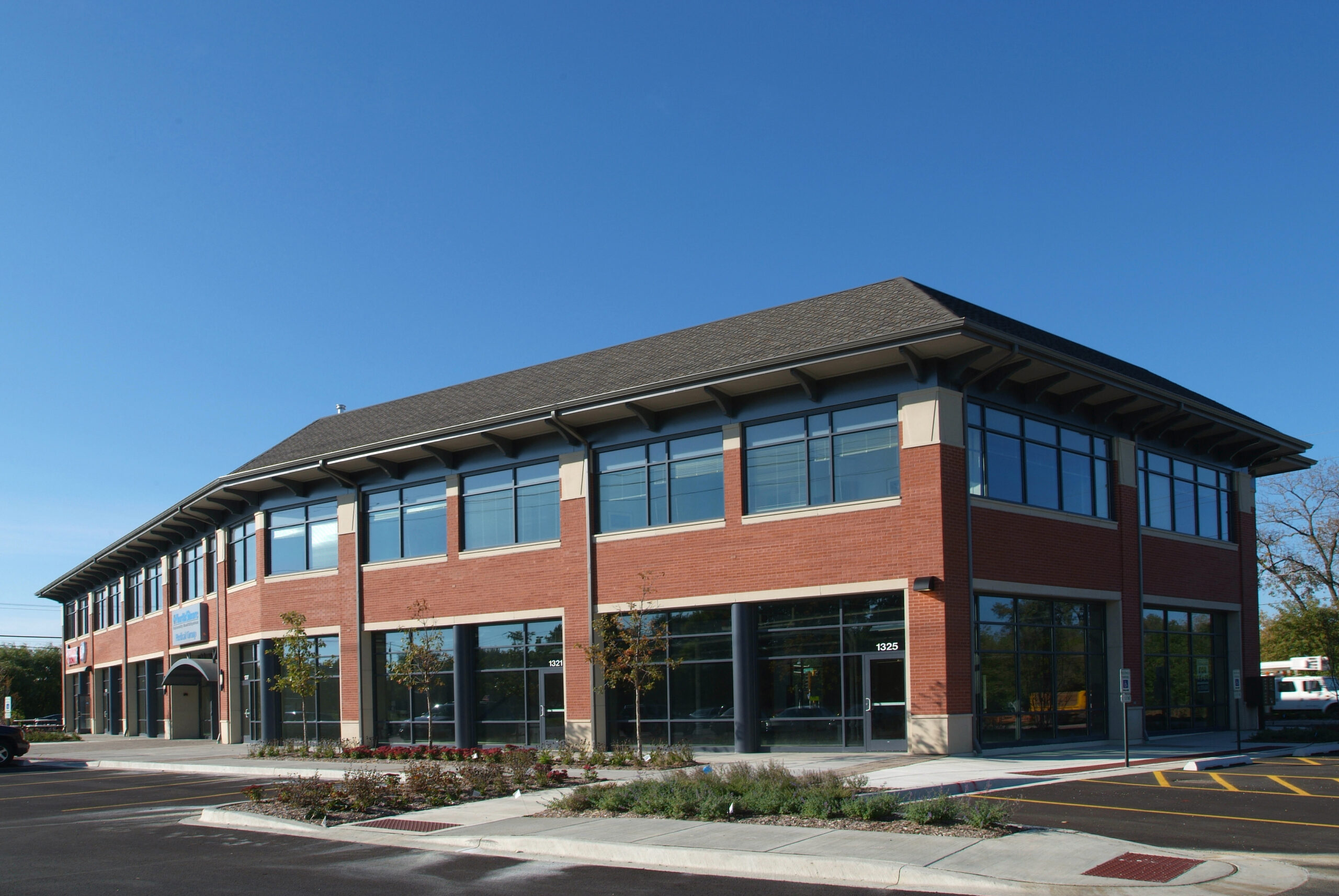 Exterior view of NorthShore Medical Group.