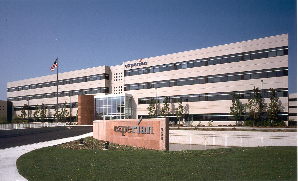 Exterior office shot of Experian.