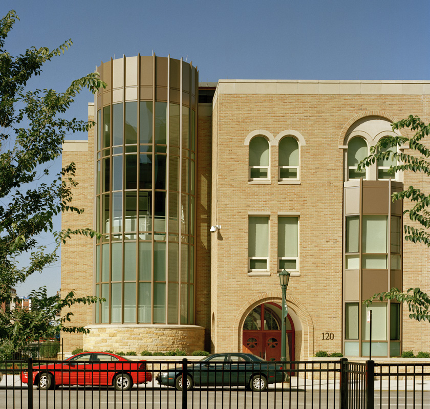 Exterior view of FXW Old St. Patricks.
