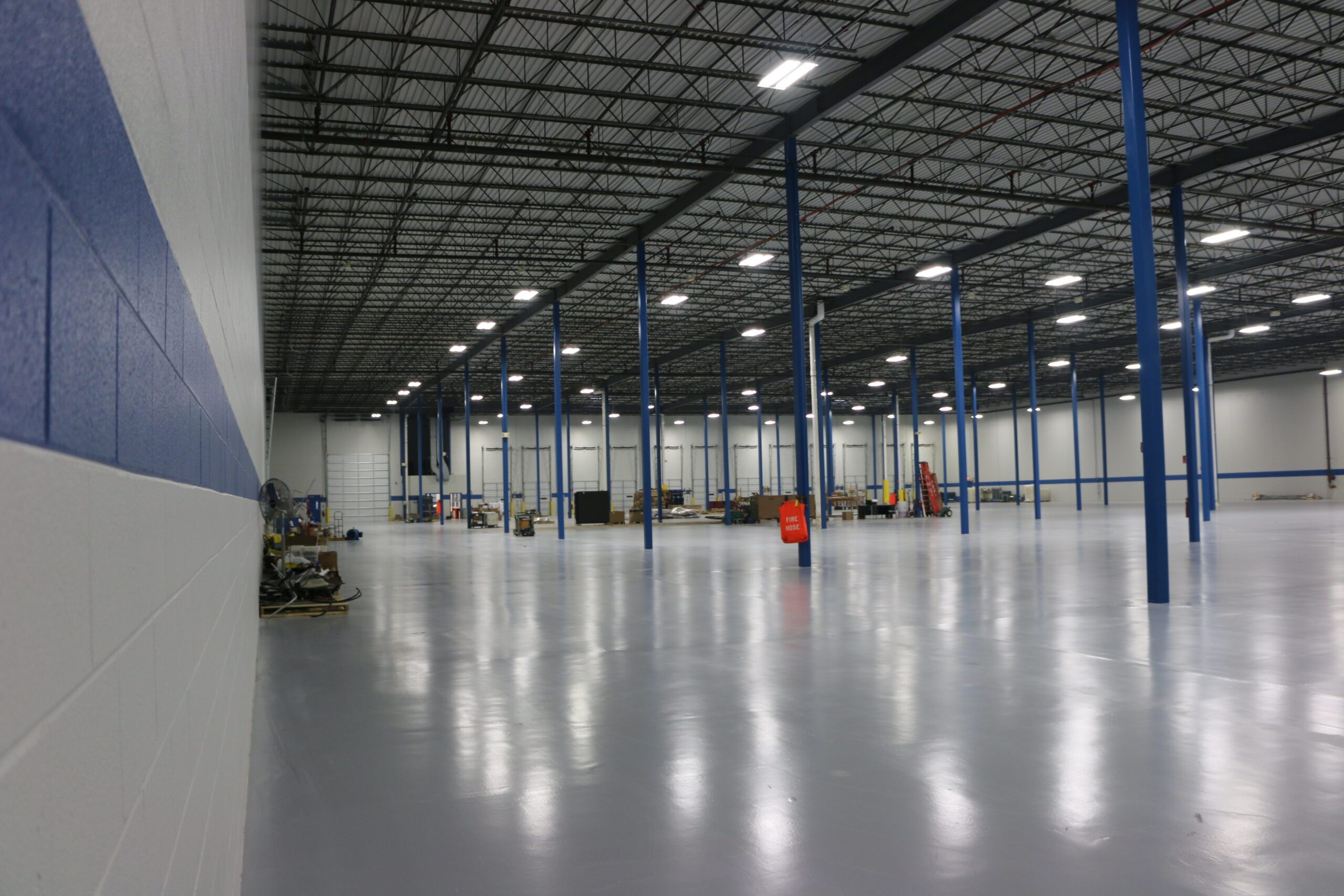 Interior floor at HydraForce.