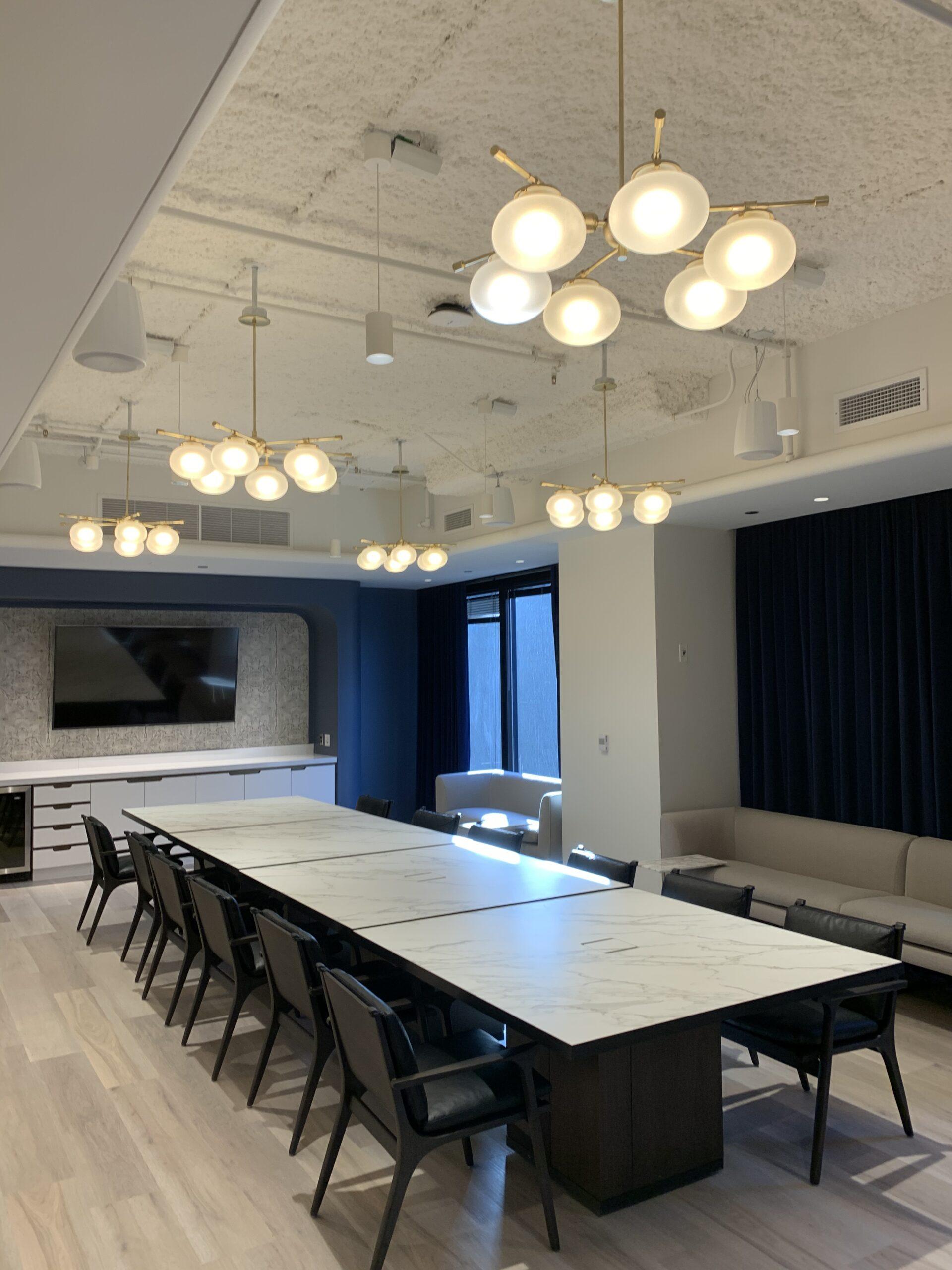 Conference room, Tishman Speyer.