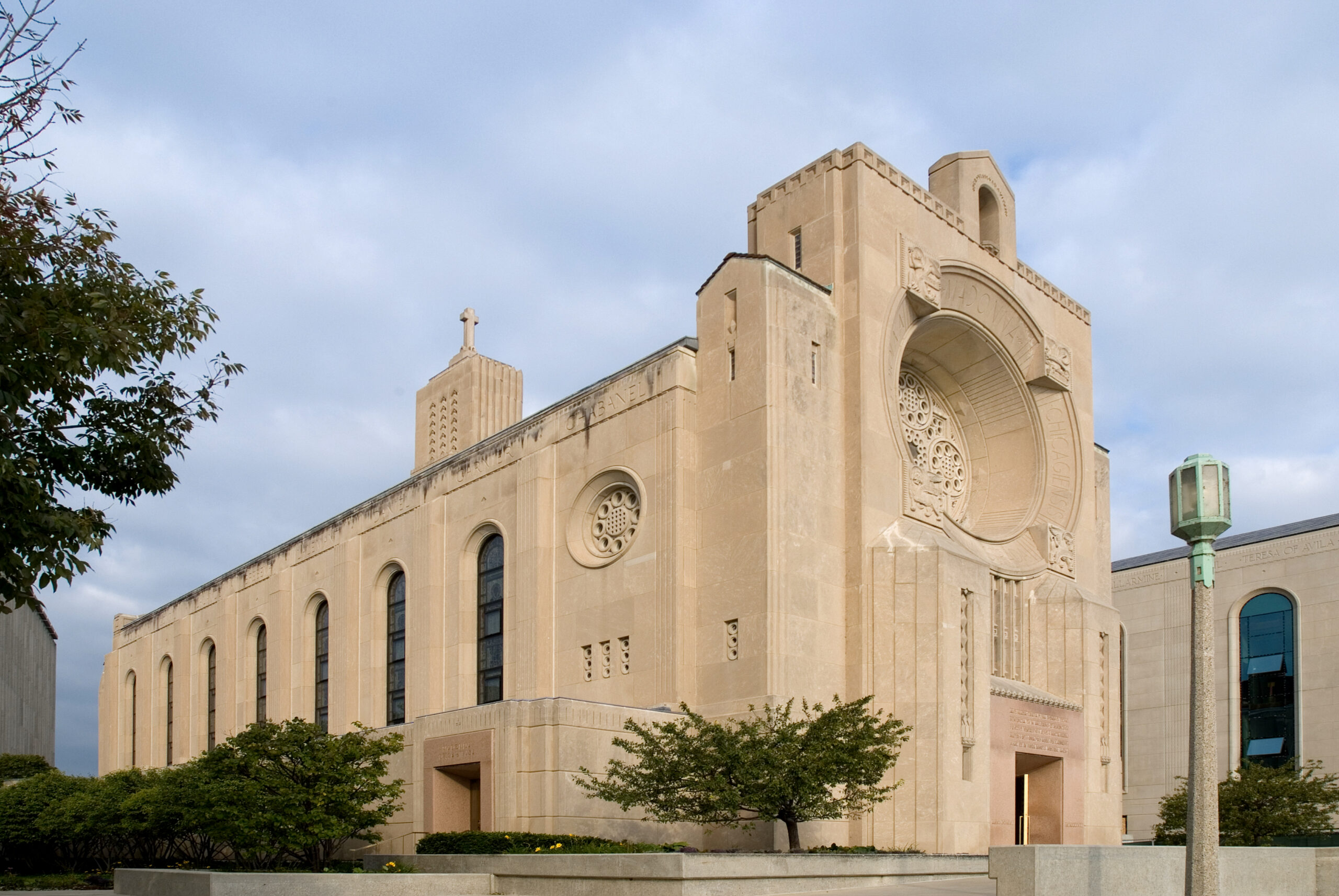 Madonna Della Strada Chapel at Loyola University