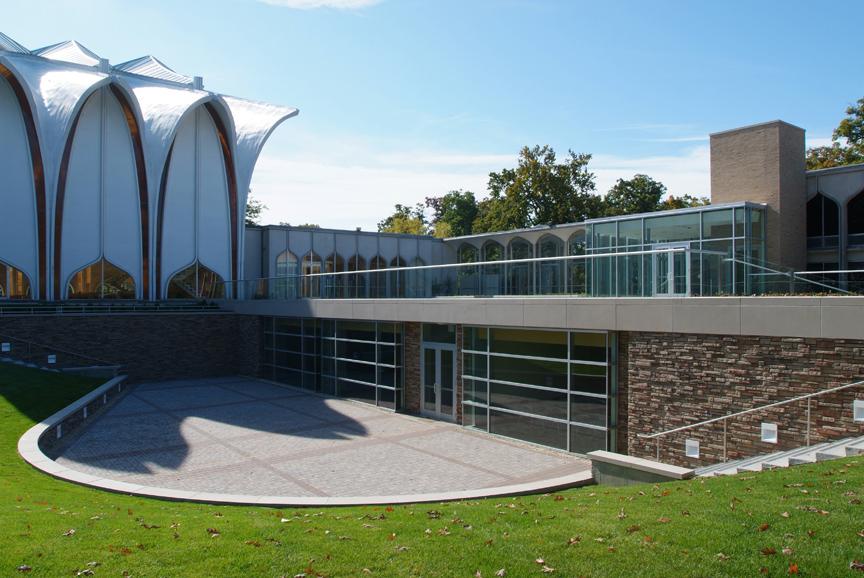 Exterior, Congregation of Israel.