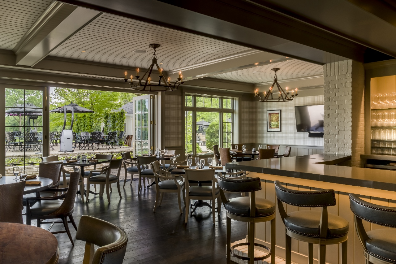Dining area, North Shore CC.