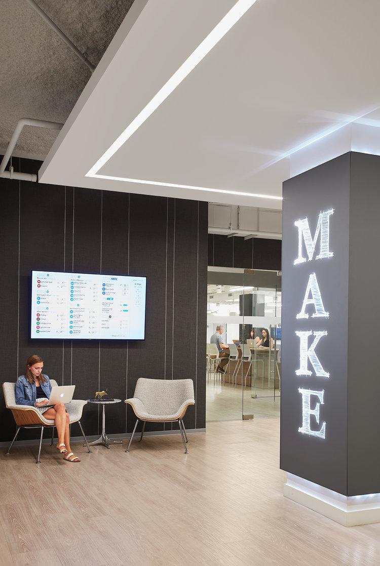Interior view, MakeOffices.
