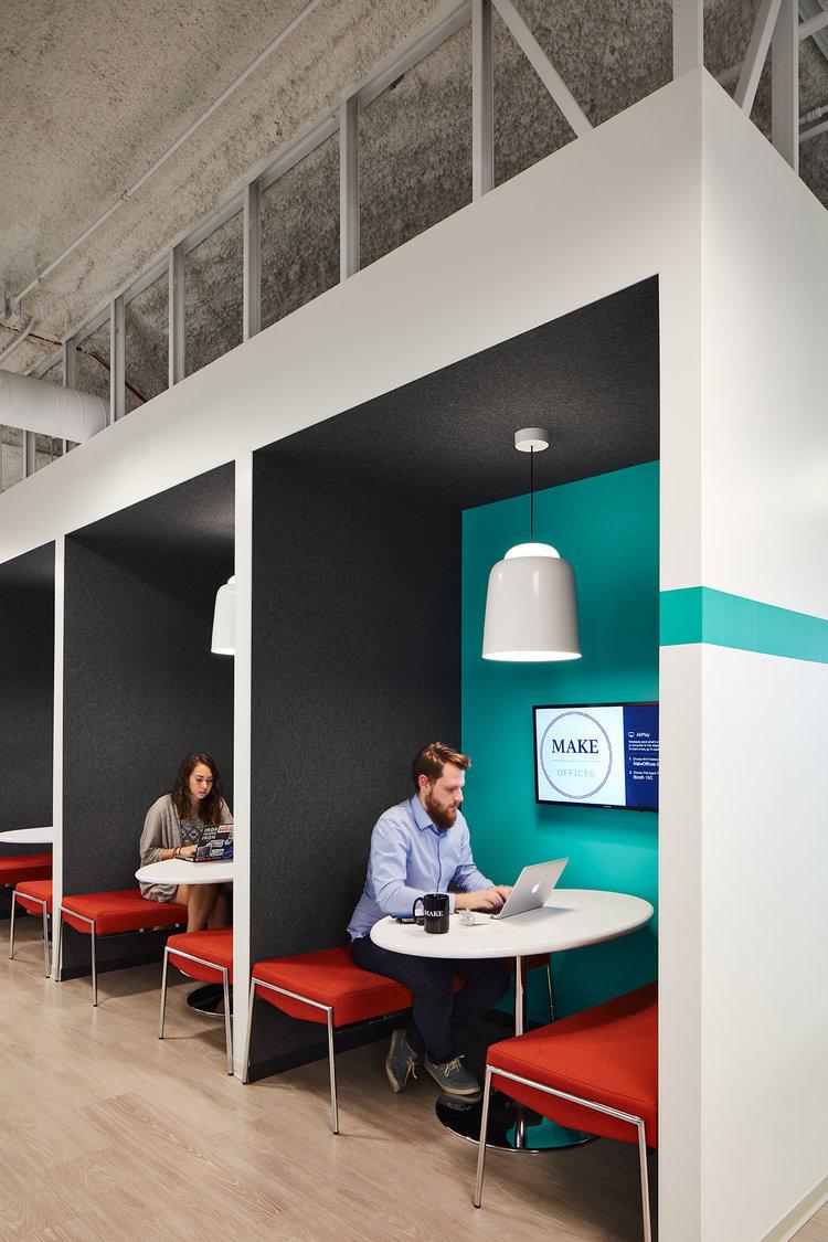 Work pod areas, MakeOffices.