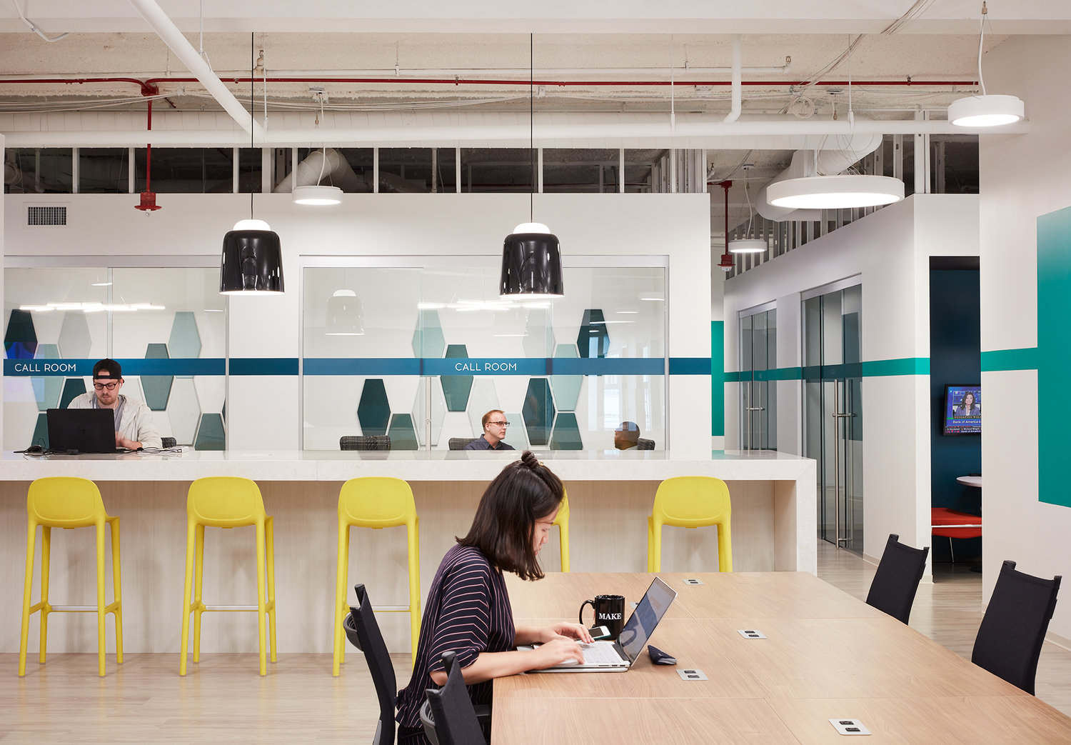 Collaboration area, MakeOffices.