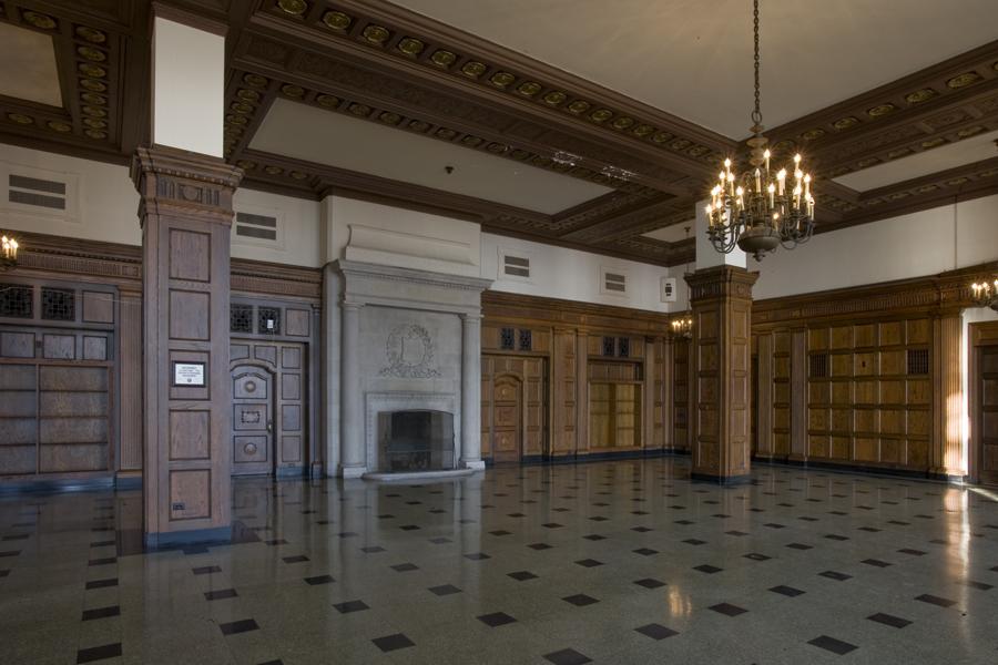 Interior of 850 Lakeshore Drive.