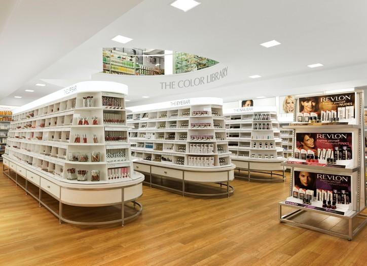 Interior view of retail store, Ulta.